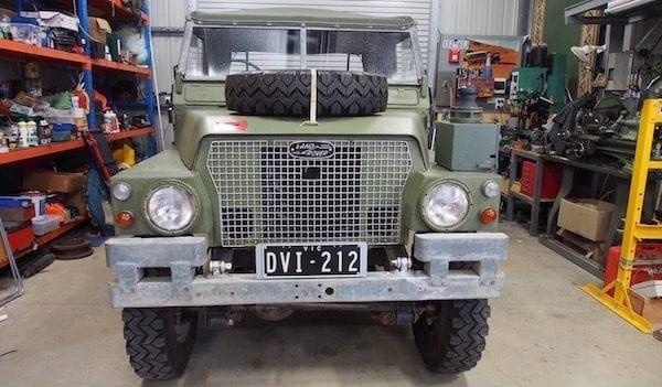 Series III Land Rover EV Conversion